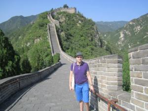 The Great Wall...all to myself. Mwahahahaha.