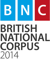 BNC - British National Corpus 2014 - colour - web - on white - small